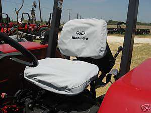 MAHINDRA TRACTOR SEAT COVER
