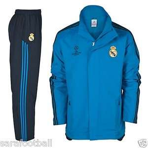 ADIDAS REAL MADRID UEFA PRESENTATION TRACKSUIT 2011 12 MENS 100%