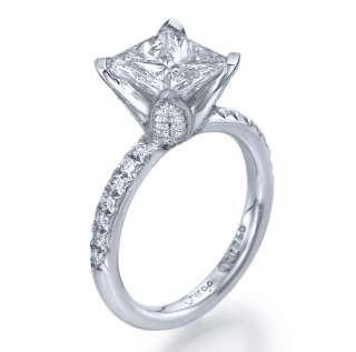 60 carat F/VS PRINCESS CUT DIAMOND ENGAGEMENT 18K RING