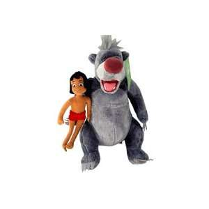 Disney Story The Jungle Boy Mowgli & Baloo Plush Toy: Toys