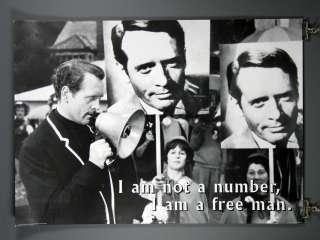 The Prisoner, Patrick McGoohan Poster I Am Not A Number 24 x 36