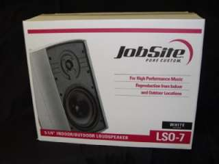 Niles Jobsite LSO 7 Outdoor All Weather Speakers LSO7