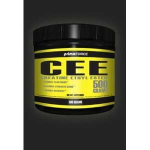 PrimaForce CEE Creatine Ethyl Ester Powder   500 g Health