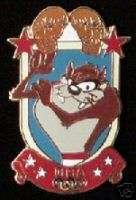 TAZ Tasmanian Devil Olympic Pin ~ Boxing ~ 1996 Atlanta ~ Looney Tunes