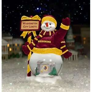 Washington Redskins NFL City Limits Snowman