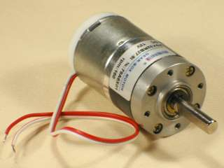 12V DC 160rpm Permanent Magnetic Planet Gear Motor New