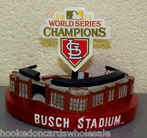 St.Louis Cardinals 2011 World Series Champions Replica Busch Stadium