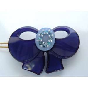 Little Girl Blue Bird Gorgeous Hair Clip Pin,Easy Way Snap