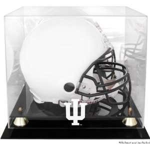 Indiana Hoosiers Golden Classic Logo Helmet Display Case