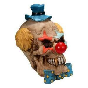 Evil Clown Skull Container: Toys & Games