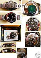 ROLEX GMT MASTER I I box and papers 2004 MINT