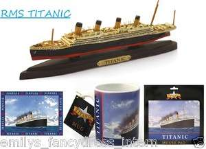 RMS TITANIC White Star Line Irish Ireland Cruise Ship SOUVINERS Gifts