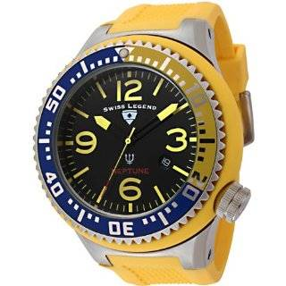 Swiss Legend Mens 21818P 01 YBL Neptune Collection Stainless Steel