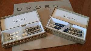 NEW GENUINE Cross Bailey Ballpoint Pen & Pencil Set RRP £50