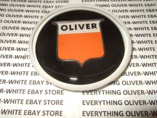 OLIVER WHITE TRACTOR MANUAL STEERING WHEEL CAP COVER