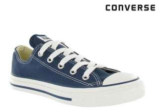 Converse 3J237 Chuck Taylor All Star Ox Navy Youth Shoe