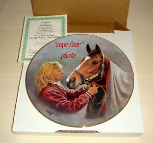 Fred Stone GO FOR WAND 1987 1990 Horse W/Heart Plate