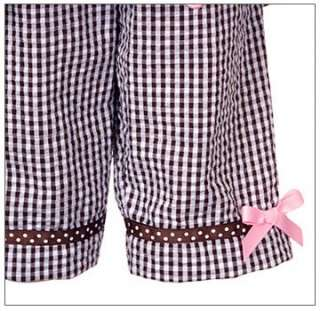 Editions Brown Pink BUTTERFLY Capri sz 18m Girls Easter Dress Clothes
