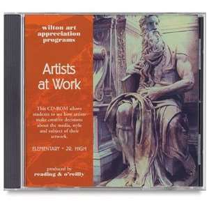 Wilton Art Appreciation CD ROMs   Artists at Work CD ROM