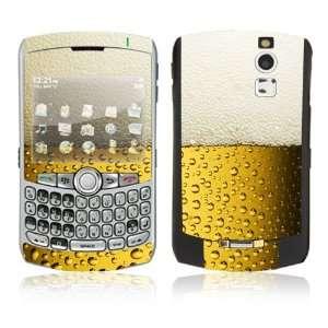 BlackBerry Curve 8350i Skin Decal Sticker   I Love Beer