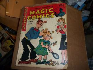 original 1948 Magic Comics #104 Blondie comic book