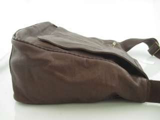 NWT HOBO Brown Leather Lap Top Case Handbag $298