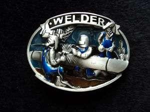 WELDER ENGINEER WELDING TOOLS OIL PIPELINE BELT BUCKLE