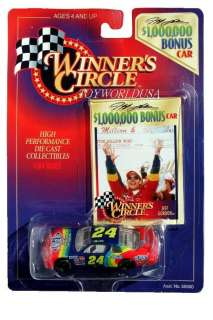 Jeff Gordon #24 MILLION DOLLAR BONUS CAR ~ Chevrolet Monte Carlo