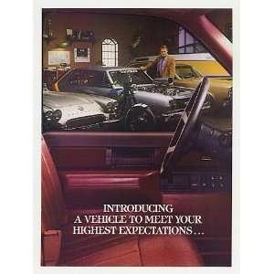 1987 GMC Sierra Pickup Truck 4 Page Print Ad