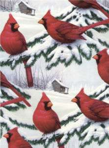 CARDINALS GIFT WRAPPING PAPER  Giant 26x30 Roll