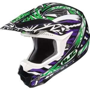 HJC Fuze Mens CL X6 Off Road Motorcycle Helmet   MC 4