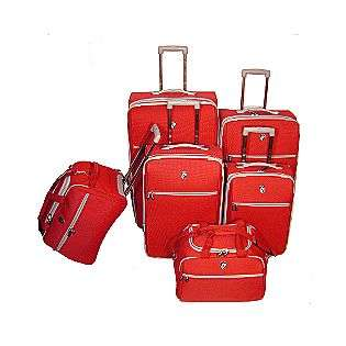 Heys USA ELPIS 6 Piece Upright Set   RED