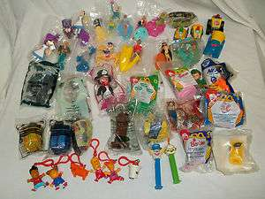 40+ Kids Meal Toys Many NIP (McDonalds, Sonics, Wendys)