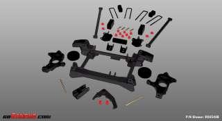 2010 Chevy Silverado / GMC Sierra 2500HD Rancho 4 Lift Kit RS6548B