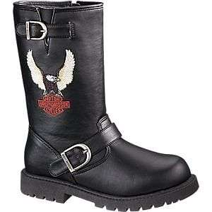 Kids Harley Davidson Boots Full Throttle 9 3