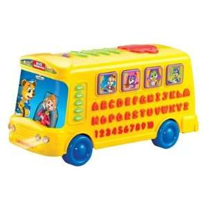 funny bus multifunctional learning toy chinese/english/spanish Toys