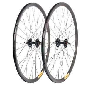 Velocity Deep V Road Wheel Set   700c Rim, Redline Hub