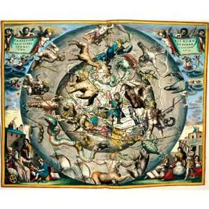 Antique Maps Star World Map 1500pc Jigsaw Puzzle Toys & Games