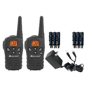 Channel GMRS Radios w/Plug In Charger