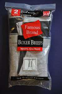 Pcs Mens Fruit of the Loom Boxer Briefs Underwear B