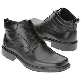 Mens ECCO Berlin Gore Tex Boot Black Leather Shoes