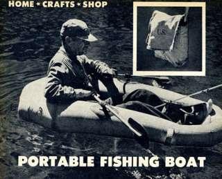 Plans   Make a 1 Man PORTABLE FISHING BOAT Lightweight