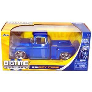 1955 Chevy Stepside Pickup Truck 124 Scale (Blue) Toys