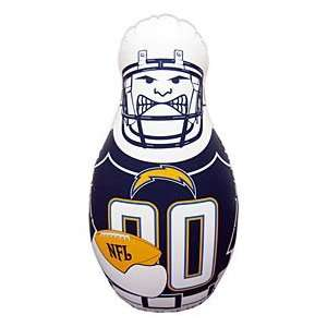 San Diego Chargers Tackle Buddy Durable Vinyl And Sand