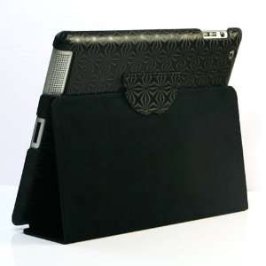 Luxury PU Leather Case/ Flip Stand Case for Apple iPad 2
