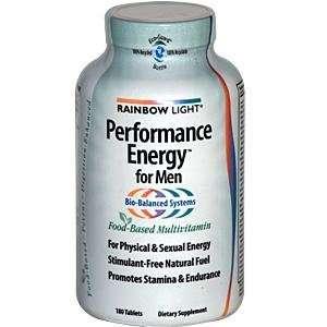 Rainbow Light Performance Energy Multivitamin for Men 180