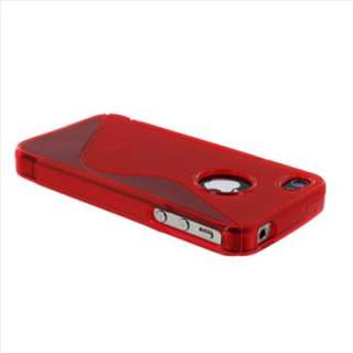 Grip Gel Silicone TPU Case Cover Skin for Apple Iphone 4S 4G