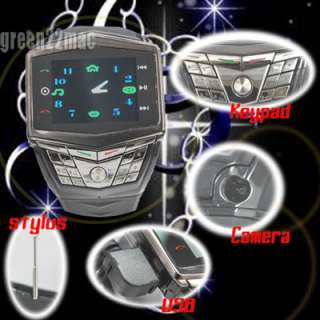 US Ultra Thin Watch Cell Phone Mobile DWN GD910 Keypad/Touch /4