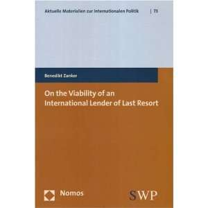 Zur Internationalen Politik) (9783832925680) Benedikt Zanker Books
