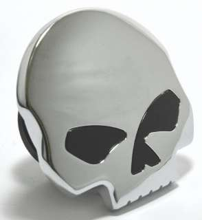 Skull Tankdeckel Totenkopf Custom Billet Chrom für Harley Davidson